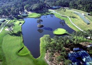 Aerial View of TPC Sawgrass 17